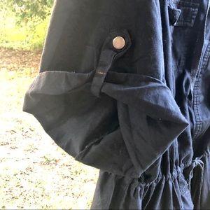 torrid Jackets & Coats - 💋Torrid Linen black Anorak jacket Sz 2X